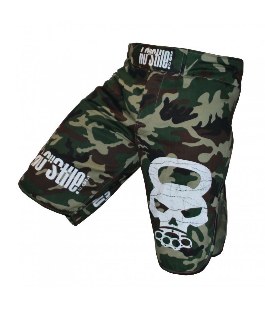 Šortky Kill the Burpee! Revolution Camo *M* HO-STILE
