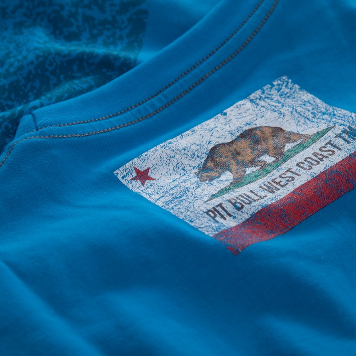 Triko California Flag Blue *L* PITBULL WEST COAST