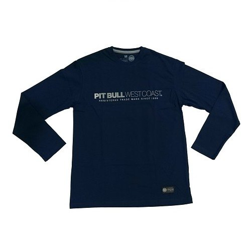 Triko LS Iron Plate Dark Navy *L* PITBULL WEST COAST