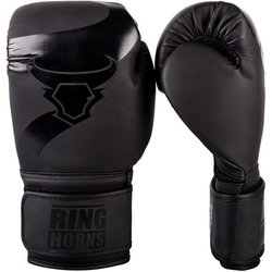 Boxerské rukavice Charger Black/Black Ringhorns