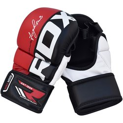 Sparringové MMA rukavice Rex Power Fighter Red RDX