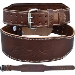 Opasek do posilovny Leather Brown RDX