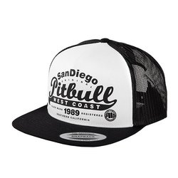 Kšiltovka Snapback Pitbull Script White/Black PITBULL WEST COAST VENUM