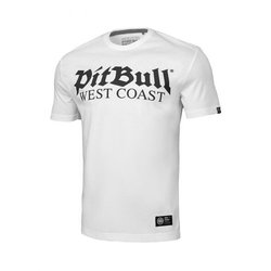 Triko Old Logo White PITBULL WEST COAST