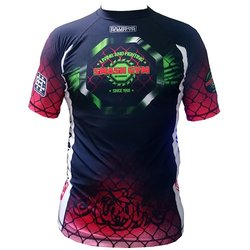 Rashguard Black/Red SMASH GYM