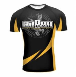 Rashguard SS BJJ 2015 PITBULL WEST COAST